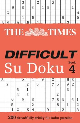 The Times Difficult Su Doku Book 4