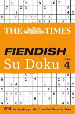 The Times Fiendish Su Doku Book 4