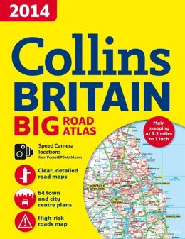 2014 Collins Britain Big Road Atlas