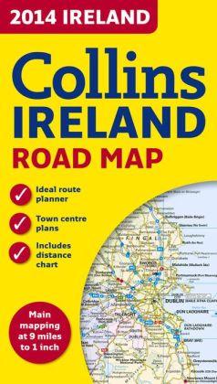 Collins 2014 Ireland Road Map