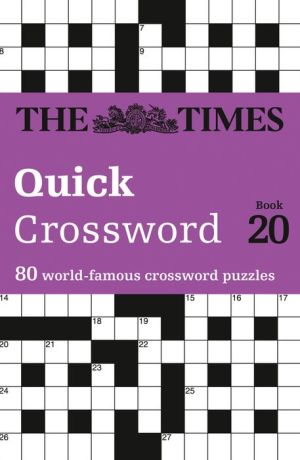 The Times Quick Crossword Book 20: 80 General Knowledge Puzzles From The Times 2