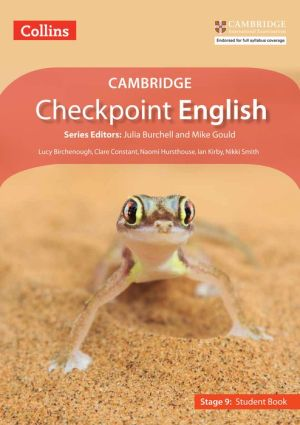 Collins Cambridge Checkpoint English - Stage 9: Student Book