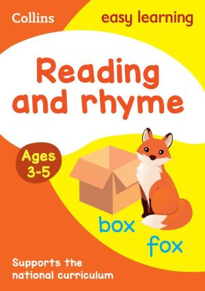 Collins Easy Learning Preschool - Reading and Rhyme Ages 3-5: New Edition