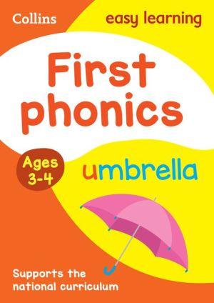 Collins Easy Learning Preschool - First Phonics Ages 3-5