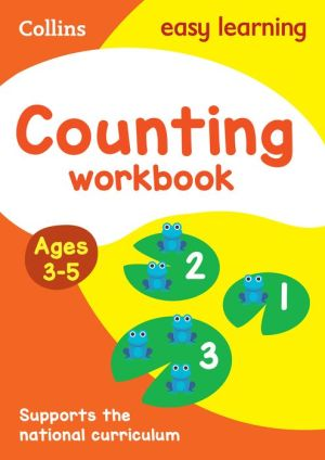 Collins Easy Learning Preschool - Counting Workbook Ages 3-5: New Edition