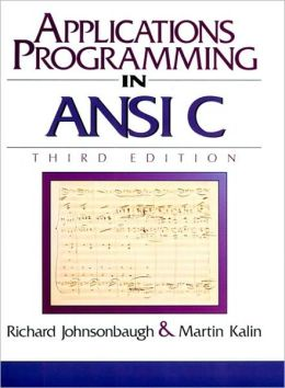 Applications Programming in ANSI C