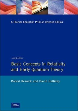 Basic Concepts in Relativity and Early Quantum Theory
