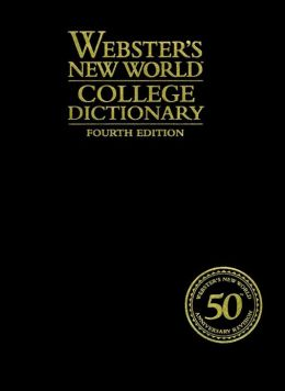 Webster's New World College Dictionary, 4th Edition (Cloth - Leatherkraft)