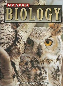 holt modern biology textbook pdf