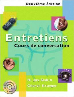 Entretiens: Cours de conversation (with Audio CD)