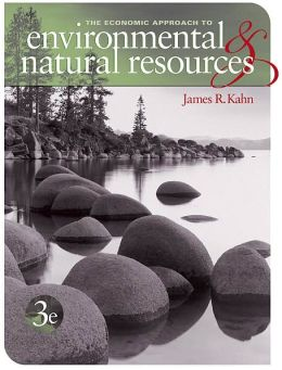 Economic Approach to Environment and Natural Resources