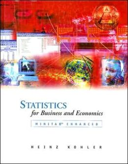 Statistics for Business and Economics,MINITAB Enhanced with Student CD-ROM