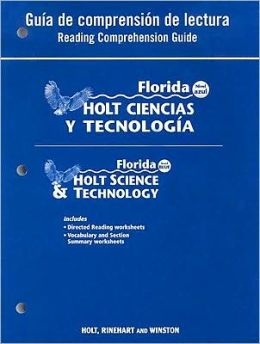 Holt Science & Technology Florida: Spanish Reading Comprehension Guide Grade 8 Physical Science
