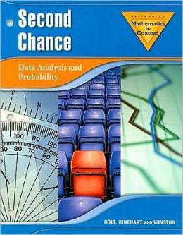 Holt Math in Context: Second Chance Grade 7