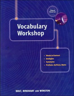 Holt Traditions Vocabulary Workshop: Vocab Workshop Grade 9