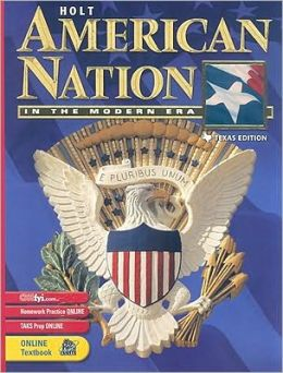 Holt American Nation Texas: Student Edition Grades 9-12 In the Modern Era 2003
