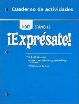 ?Expr?sate!: Cuaderno de actividades Student Edition Level 2