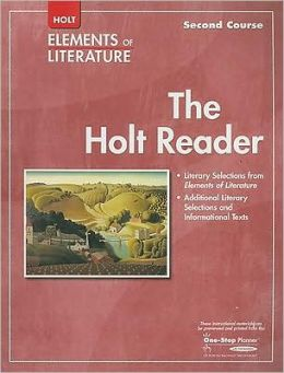 Elements of Literature: HOLT RDR SE EOLIT 2007 G 8 Second Course