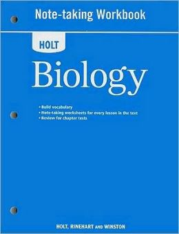 Holt Biology: Note-Taking Workbook