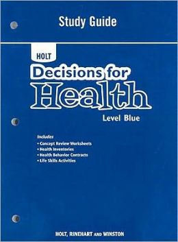 Decisions for Health: Study Guide Level Blue