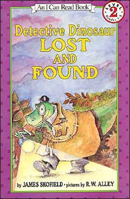 Detective Dinosaur Lost and Found (I Can Read Book 2 Series)