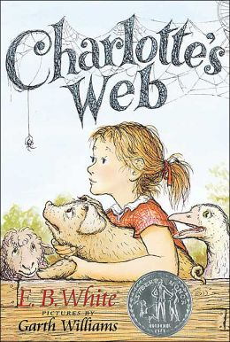 Charlotte's Web Book and Charm