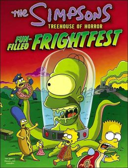 Simpsons Treehouse of Horror Fun-Filled Frightfest