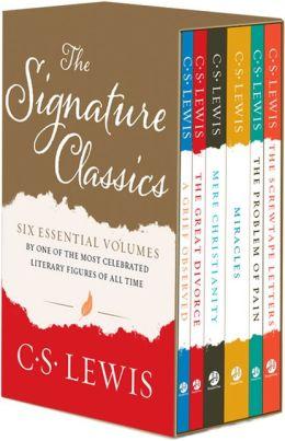 C. S. Lewis Signature Classics Boxed Set