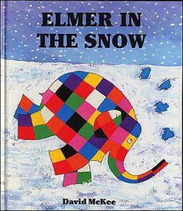 Elmer in the Snow