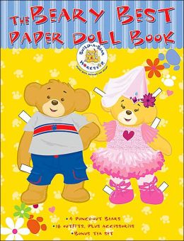 Beary Best Paper Doll Book (Build-A-Bear Workshop)