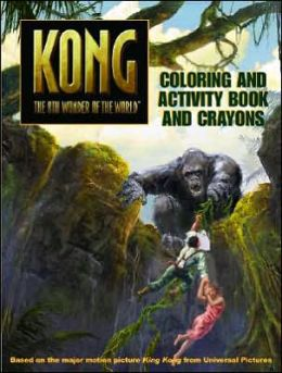 King Kong: Color and Activity Book with Stickers