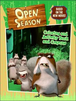 Open Season: Coloring and Activity Book and Crayons