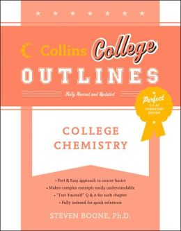 College Chemistry (Collins College Outlines Serie)