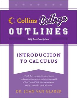 Introduction to Calculus (Collins College Outlines Series)