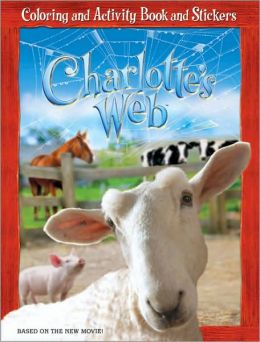 Charlotte's Web Coloring and Activity Book and Stickers