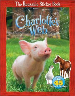 Charlotte's Web Reusable Sticker Book