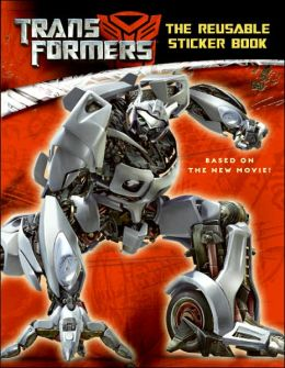 Transformers: The Reusable Sticker Book