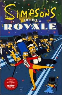 Simpsons Comics Royale: A Super-Sized Simpson Soiree