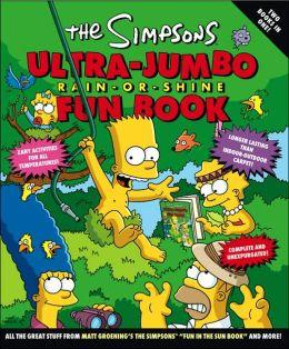 The Simpsons Ultra-Jumbo Rain-or-Shine Fun Book