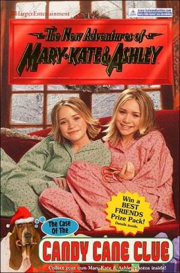 Case of the Candy Cane Clue (New Adventures of Mary-Kate & Ashley Sries #32)