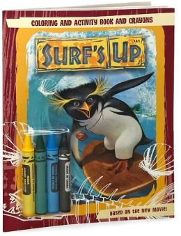 Surf's Up: Coloring and Activity Book and Crayons