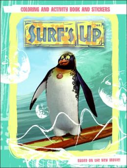 Surf's Up: Coloring and Activity Book and Stickers