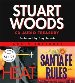 Stuart Woods CD Audio Treasury: Santa Fe Rules/Heat