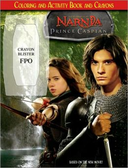 Prince Caspian: Coloring and Activity Book and Crayons