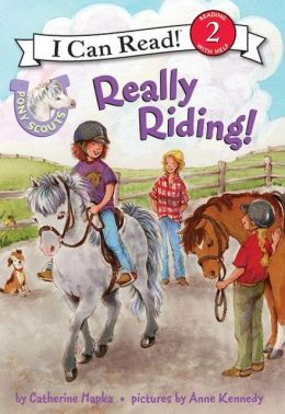 Really Riding! (Pony Scouts: I Can Read Book 2 Series)
