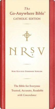NRSV Go-Anywhere Bible CE (Red)