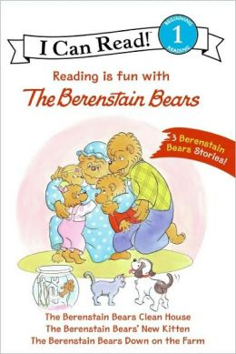 Reading is Fun with The Berenstain Bears: 3 Berenstain Bear Stories! (I Can Read Book 1 Series)