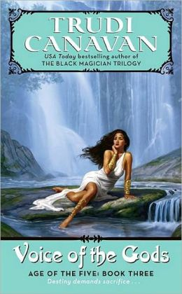 Voice of the Gods (Age of the Five Trilogy #3)