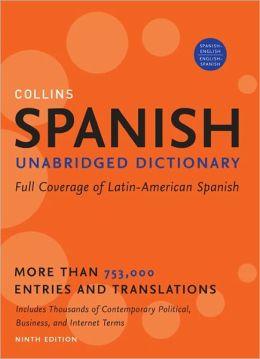 Spanish Unabridged Dictionary