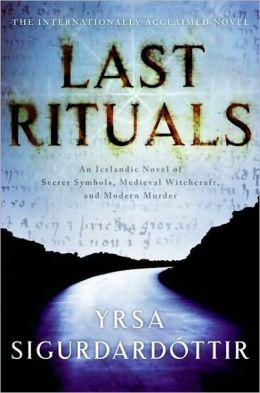 Last Rituals (Thóra Gudmundsdóttir Series #1)